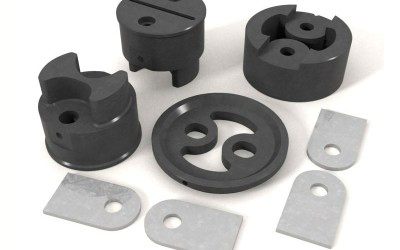 Piezas en 3D para catálogo de máquinas punzonadoras