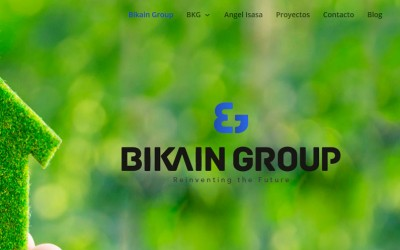 Web corporativa Bikain Group