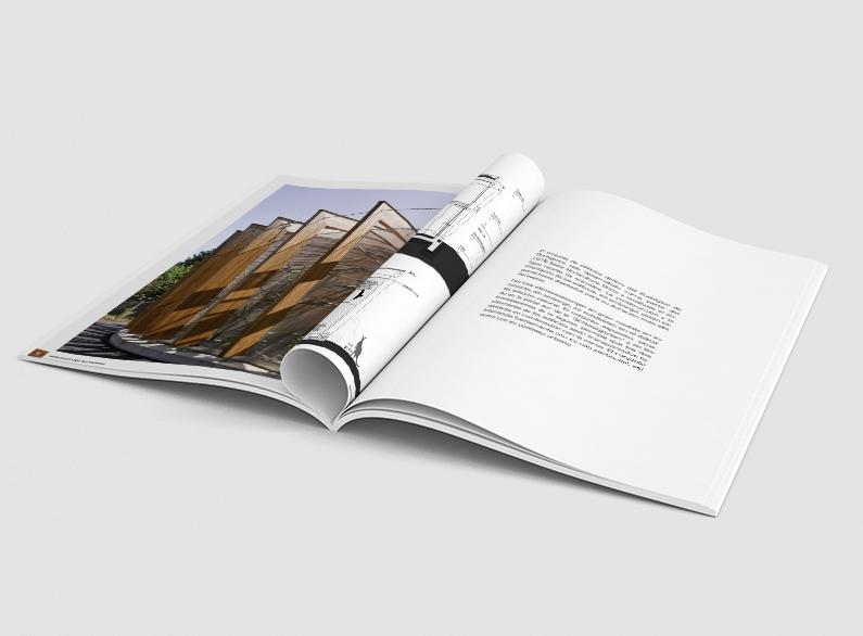 Muestra interior de la revista