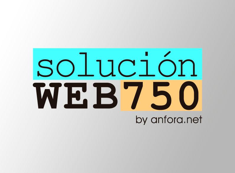 Solución WEB 750 by anfora.net