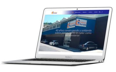 CALDERERÍA ITURRALDE actualiza su web corporativa