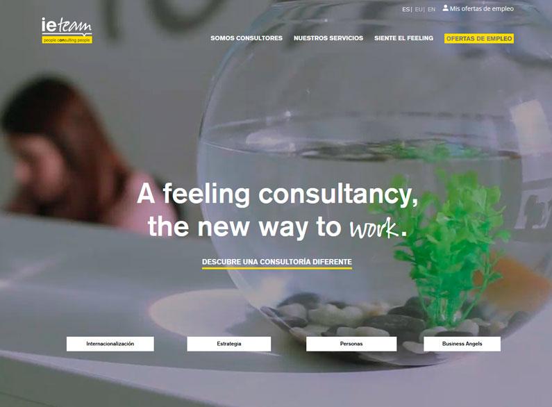 Creación de página web e integración del gestor de contenidos existente