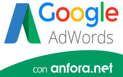 Campañas Google Adwords desde Anfora.net